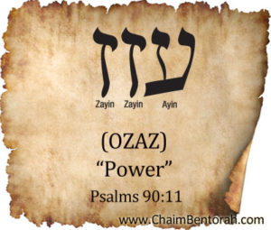 HEBREW WORD STUDY- POWER