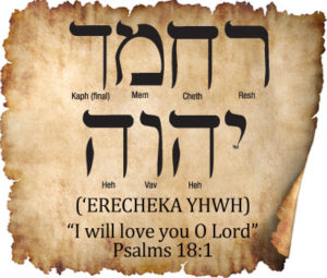 HEBREW WORD STUDY – I WILL LOVE YOU, O LORD