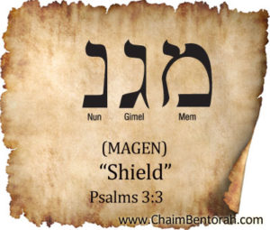 HEBREW WORD STUDY – SHIELD