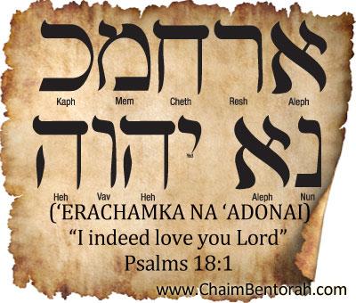 Psalms 18:1 | Chaim Bentorah